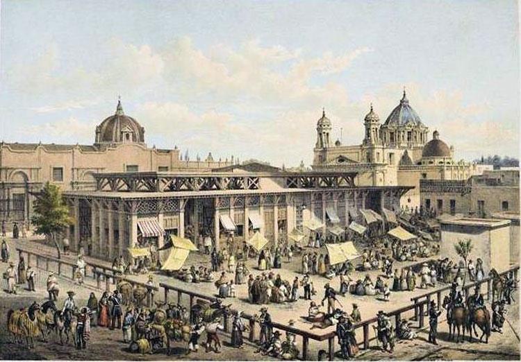 mercado san juan, ciudad de mexico