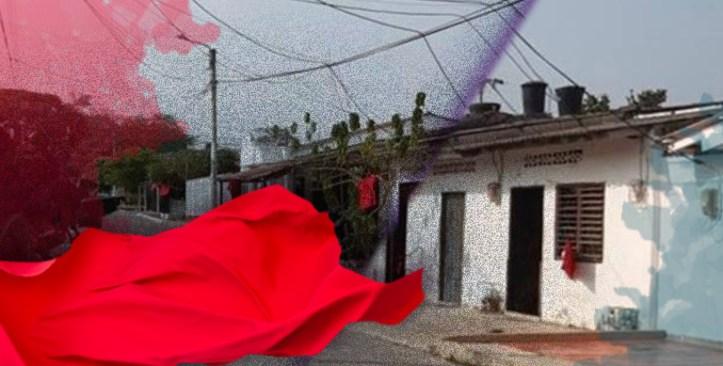 Samarios sacan trapos rojos en sus casas en señal de ayuda – Revista 7