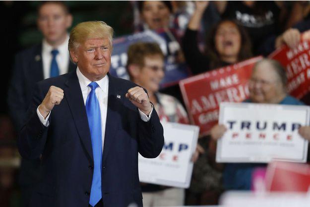 Les 13 moments cles du candidat Donald Trump1