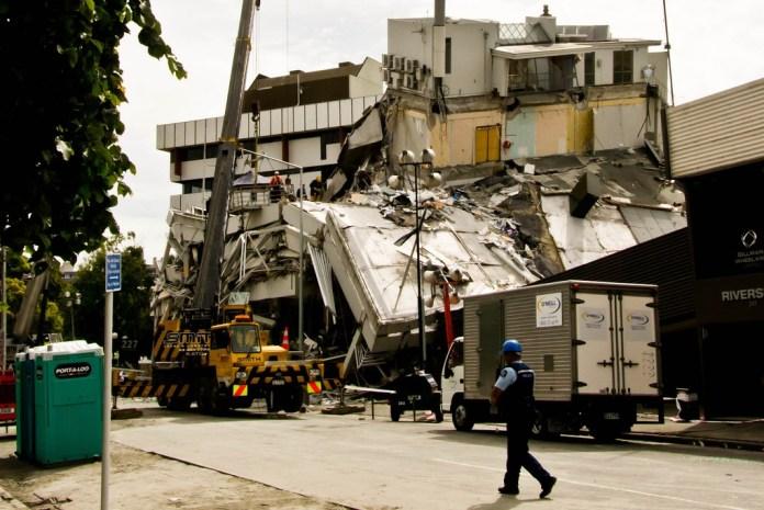 Terremoto Canterburry 2011