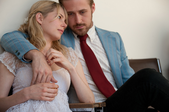 Michelle Williams as Cindy and Ryan Gosling as Dean in BLUE VALENTINE