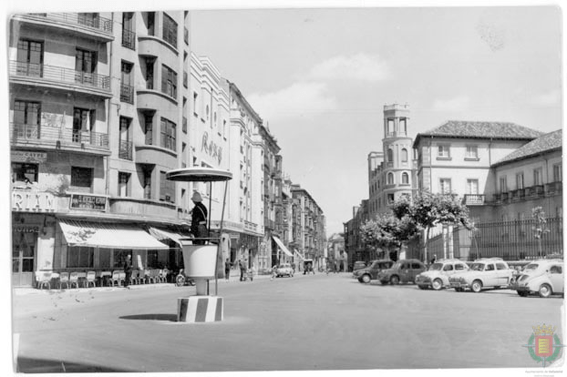 Calle María de Molina en 1965