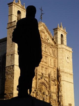 Monumento a Felipe II en la plaza de san Pablo. Foto LJC