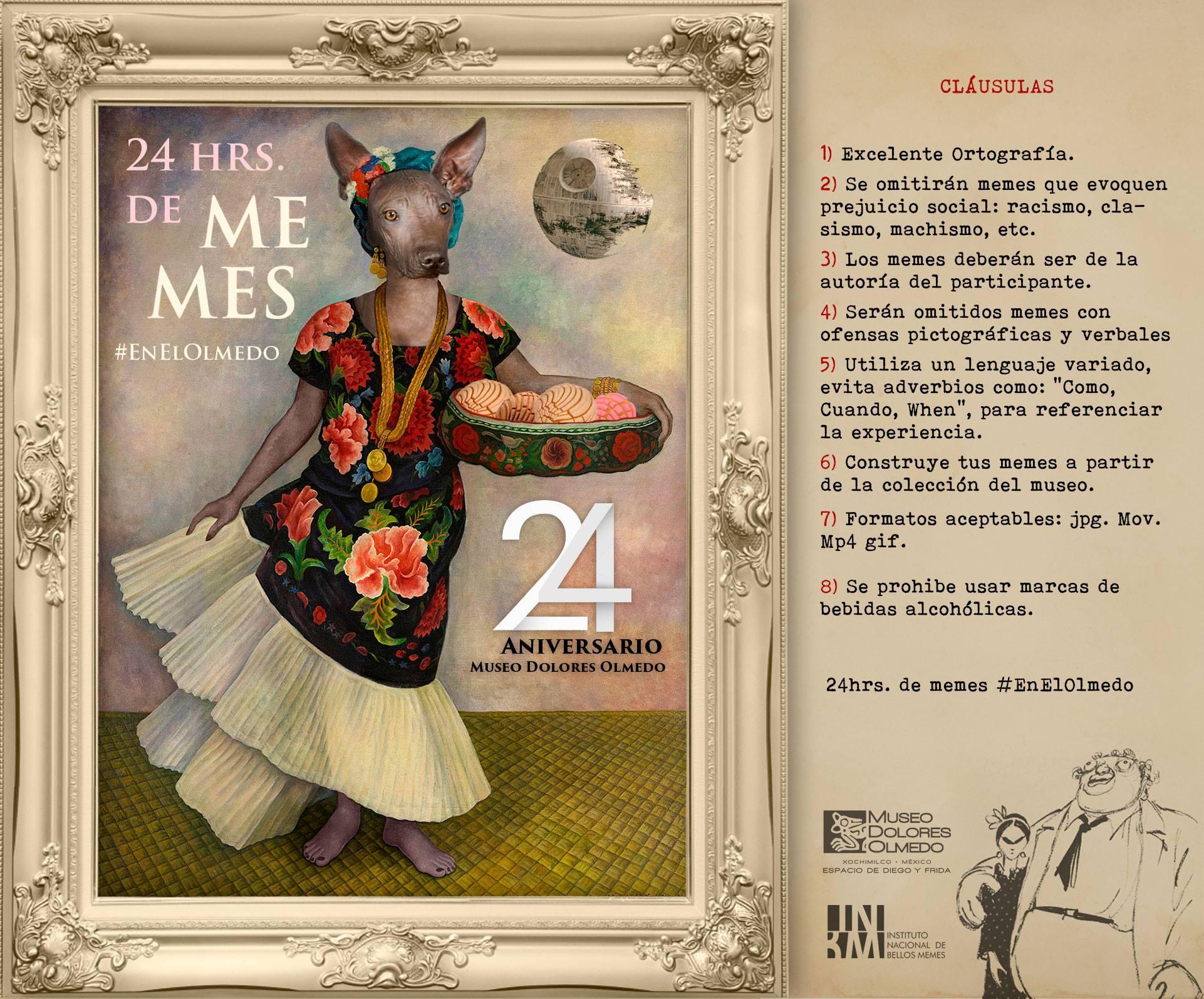 CONCURSO DE MEMES EN EL MUSEO DOLORES OLMEDO   Revista