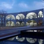 Tema art university library, por el arquitecto japonés Toyo Ito, invitado a la BIA-AR, 2014.
