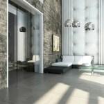Diseño al interior del edificio Blu por Cristina Villalón, interiorista invitada al VII CIIA, 2014.