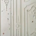 Detalle de las paredes en Design house.