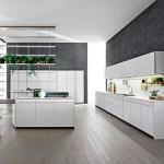 Cocina Kristal por Molteni&c, firma de diseño italiana en el IMM Cologne, 2015.