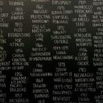 Brief historyof U.S. internventions, por Carlos Motta, 2006. En la Feria Internacional de Arte de Sao Paulo, 2015.