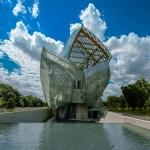 Fundación centro cultural Louis Vuitton, construido por Frank Gehry, proyecto finalista en el Design of the year 2015.