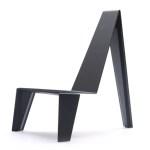 Silla Trez, diseñada por el diseñador del año Zanini de Zanine y producida por la marca Cappellini, en el Maison & Objet Americas 2015.