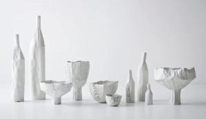 Tulipani e anemoni, colección por la diseñadora Paola Paronetto de Azure, en el Maison & Objet Americas, 2015.