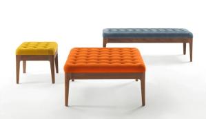 Colección de mobiliario Webby por la marca Poroda en el Maison & Objet Americas 2015.