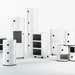 Colección de mobiliario Kartell, por Ana Castell, en el iSaloni del Salone Internazionale dil Mobile, 2015.
