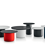 Button tables, por Baber Osgerbys, para B&B. En el Salón del Mobile 2014.