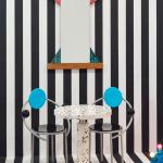 First Chair, diseñada por Michelle de Lucchi en 1980, integrante del Memphis Group.