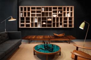 Biblioteca y diseño por R & Company, en Collective Design 2015.