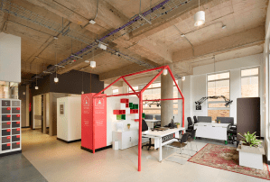 Módulos de trabajo Wor&Go por Solinoff, finalistas en la categoría de espacios interiores, de los Premios Lápiz de Acero 2015.