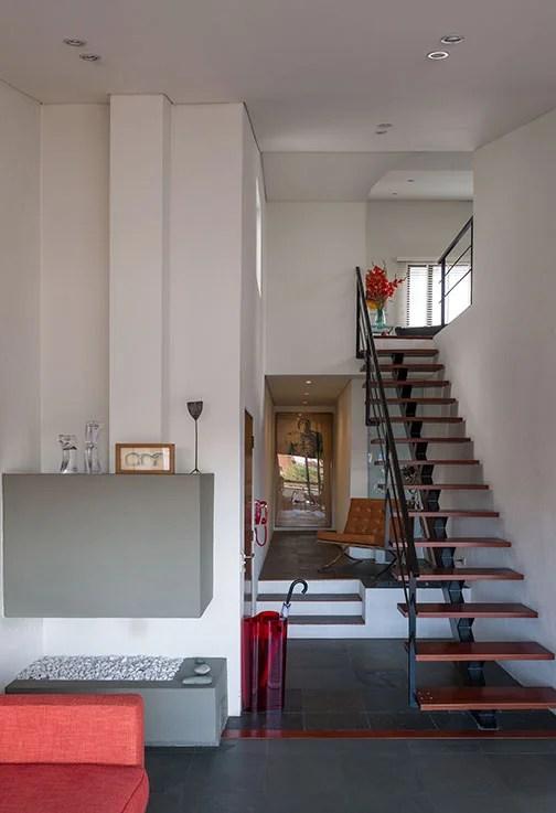 Penthouse Moderno Con Acento Retro