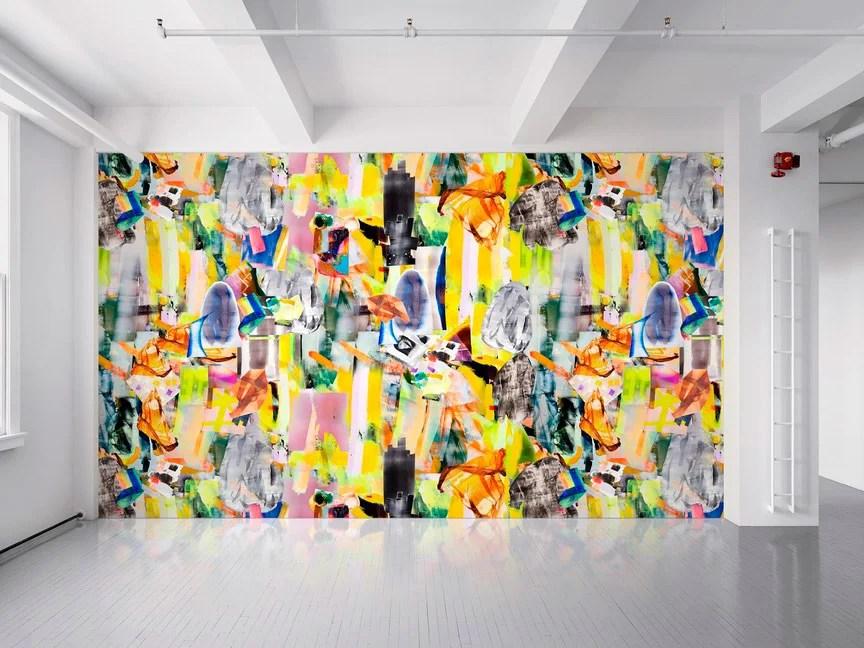 Diseño textil digital de la artista Kristin Baker.