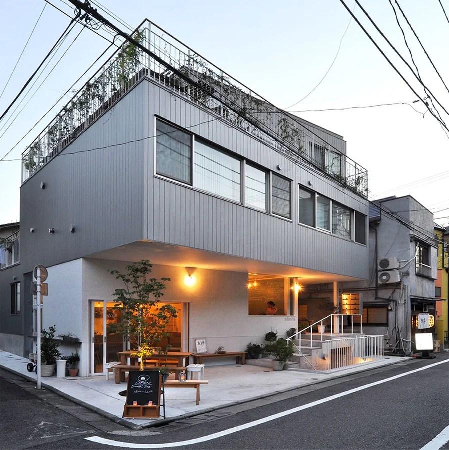 Apartamentos con un pequeño restaurante en Tokio