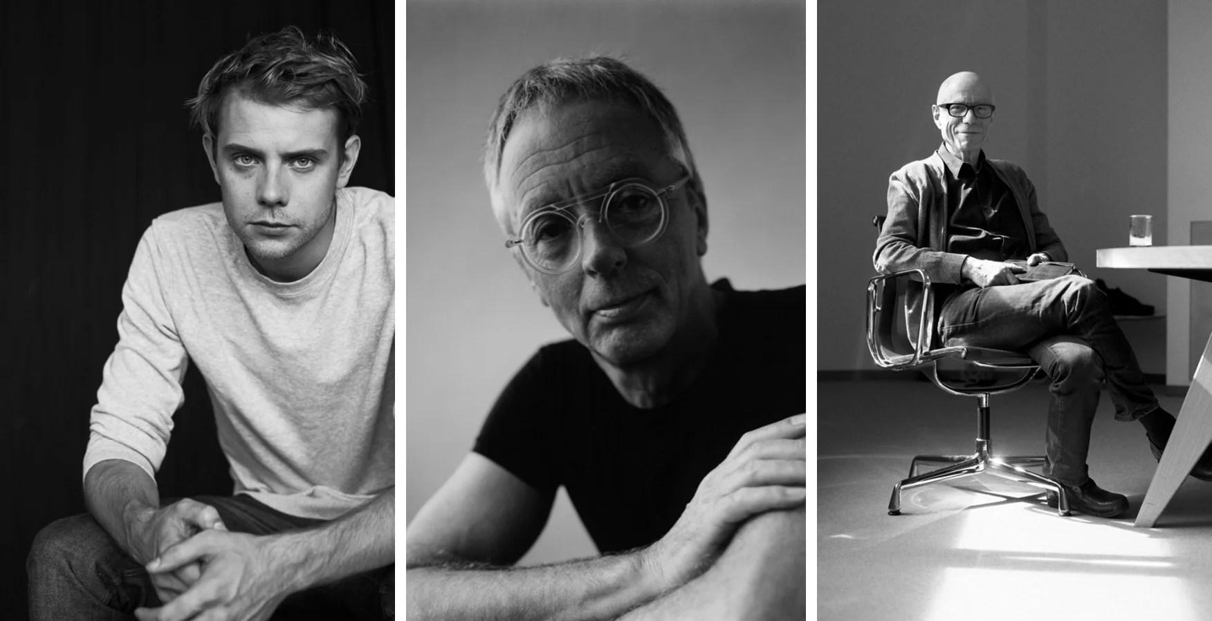 Los jurados: Jonathan Anderson, disrector creativo de Loewe, Gijs Bakker, artista y joyero y Rolf Fehlbaum de Vitra.