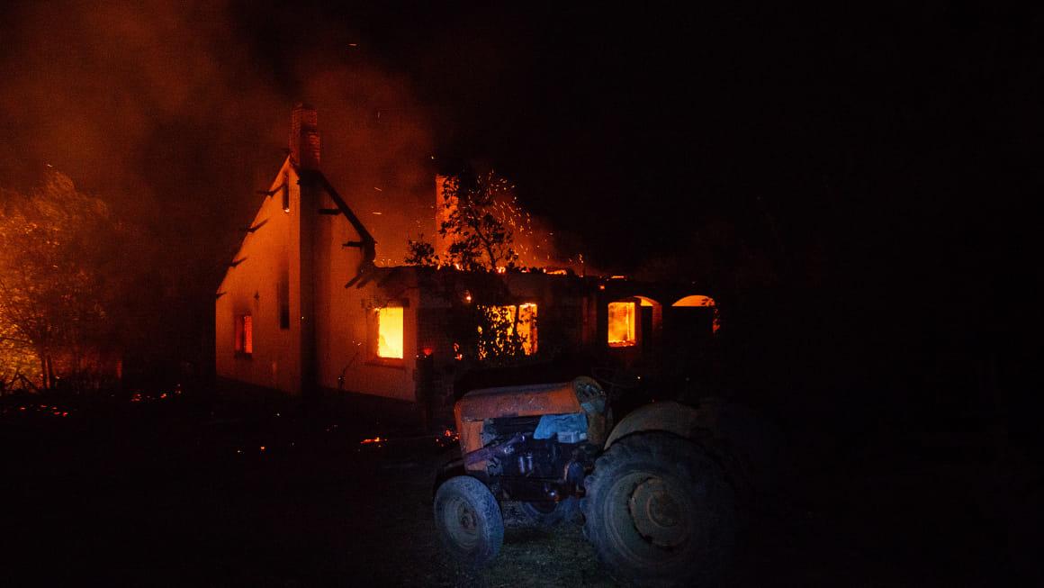Patagonia: cuatro relatos sobre el fuego