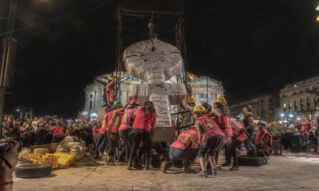 Crónica de un anti-monumento, de mujeres para mujeres