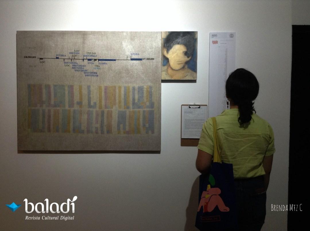 Visitante de la exposición