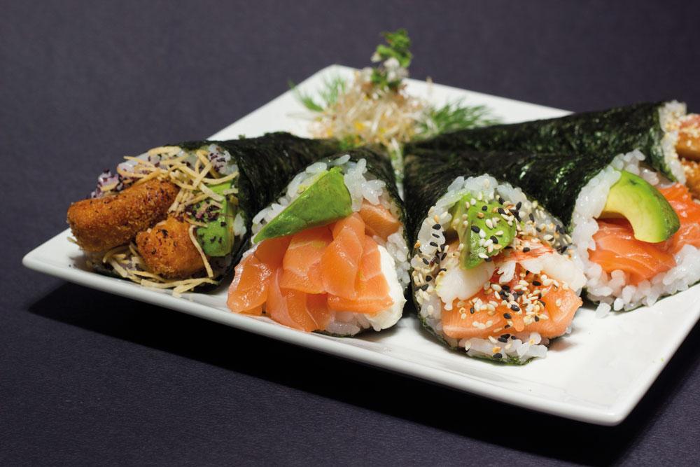 Delicias japonesas en la ciudad