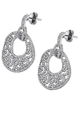 De oro blanco y diamantes - Testorelli.