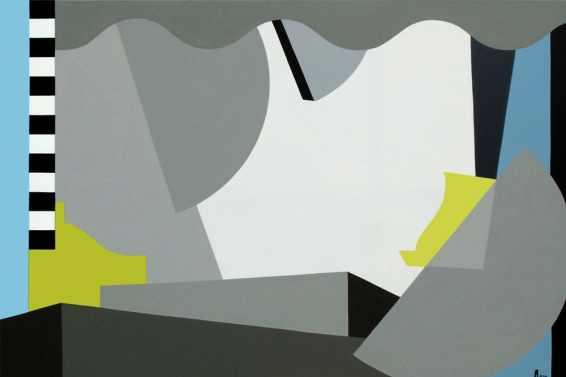 Dialogo 37 Acrílico sobre canvas - 100 x 150 cm