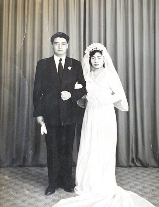 El día de su matrimonio