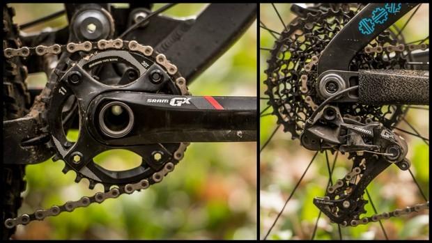 O SRAM GX é um grupo 1x muito econômico e adequado para mountain bike de verdade