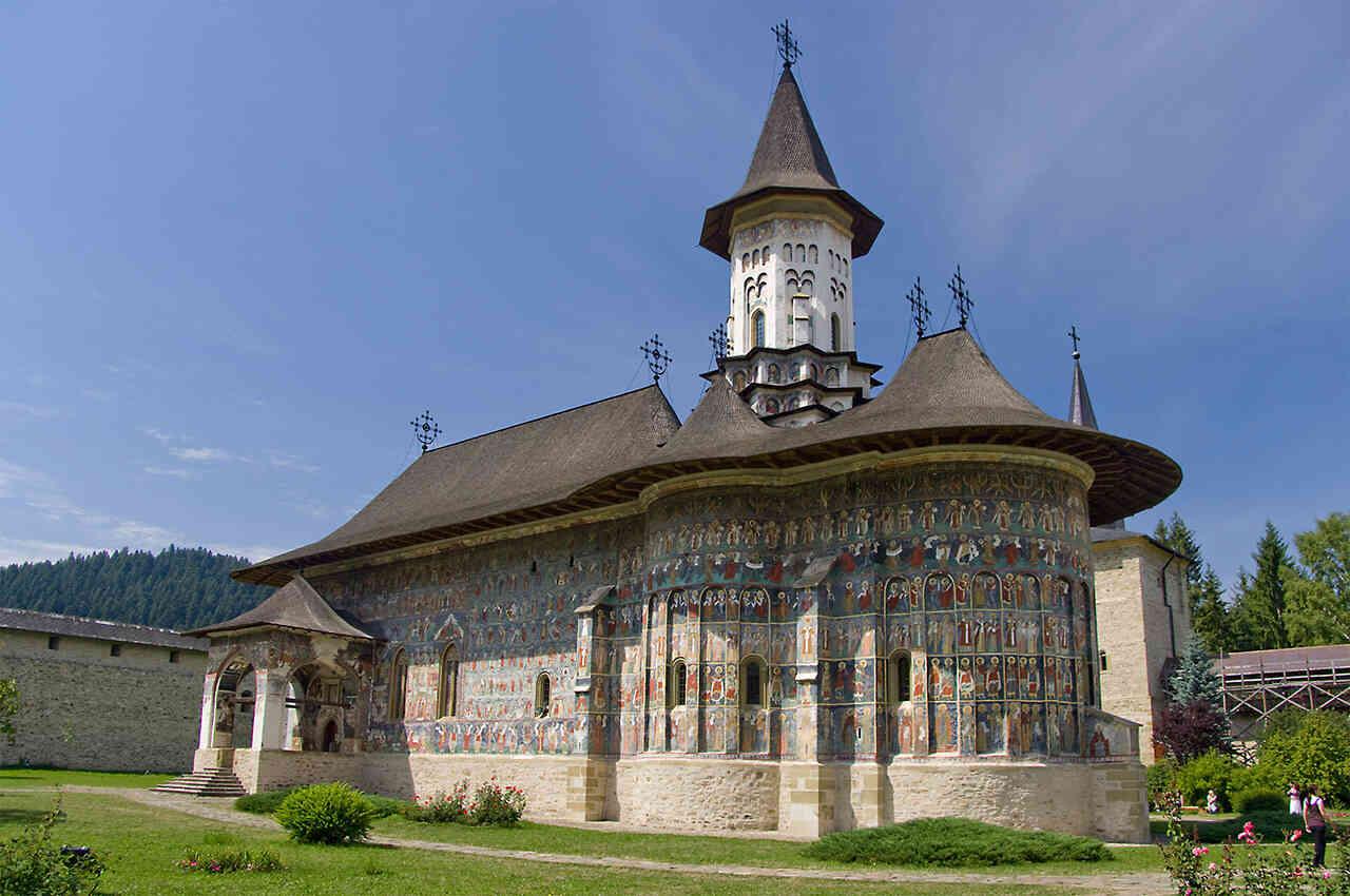 Sucevița, mănăstirea Movileștilor