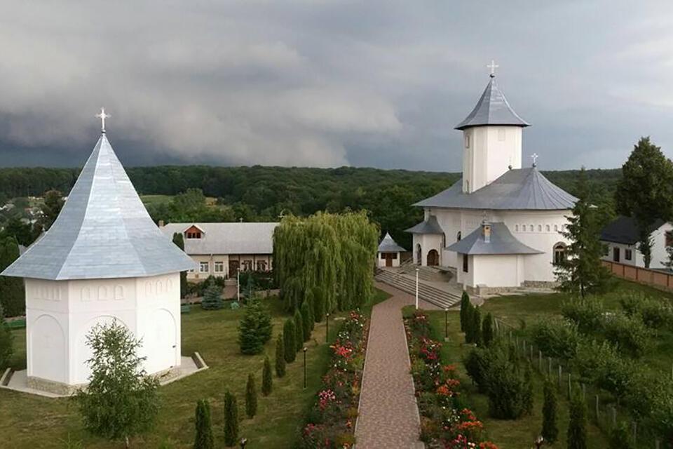 Gorovei, mănăstirea din codrii Dorohoiului