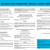Humanidades digitales en Praga y České Budějovice