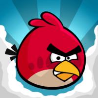 El lector digital distraído con Angry Birds