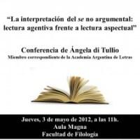 Conferencia de Ángela di Tullio en Salamanca