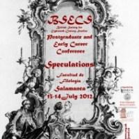 Un congreso para mirar hacia el siglo XVIII: Speculations