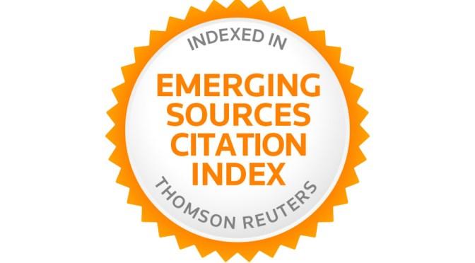 Caracteres entra en el Emerging Sources Citation Index