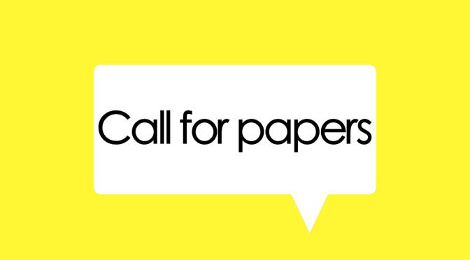 Petición de colaboraciones – Call for Contributions: Vol. 8.2 (Noviembre 2019)