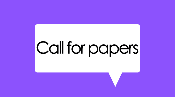 Petición de colaboraciones – Call for Contributions: Vol. 7.1 (May 2018)