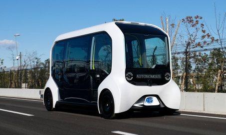 Toyota autônomo e-Palette Olimpíadas Tóquio 2020
