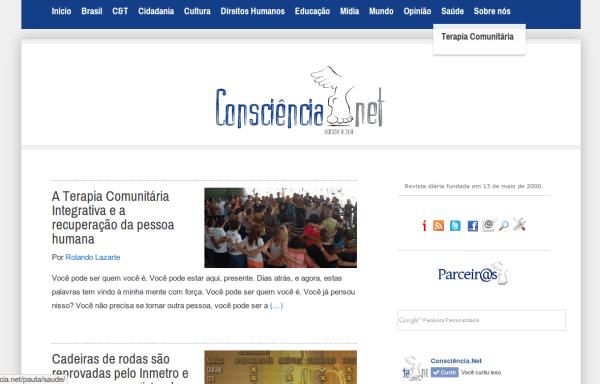 Revista Consciência.Net de cara nova