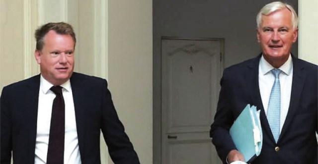 Davis y Barnier