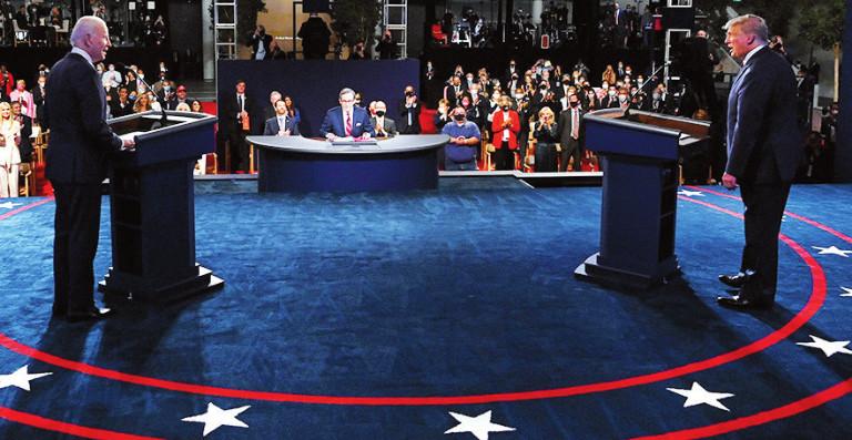 Debate elecciones EEUU 2020