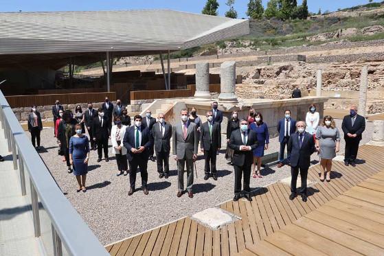 El Rey Felipe VI inaugura el Museo del Foro Romano de Cartagena