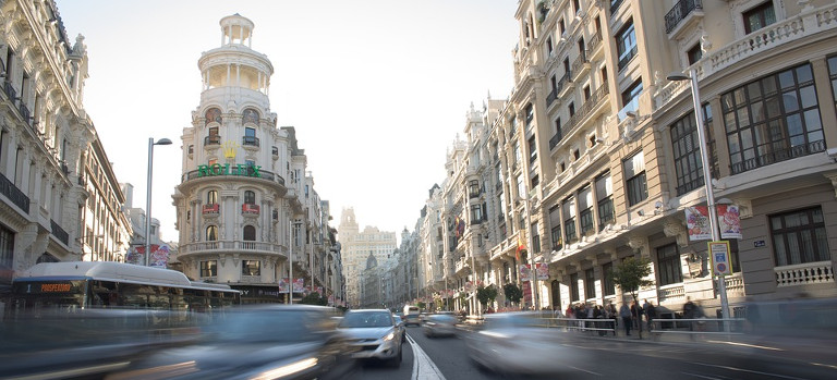 Gran Vía, Madrid, España