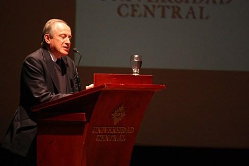 Rector Universidad Central .Guillermo Páramo Rocha